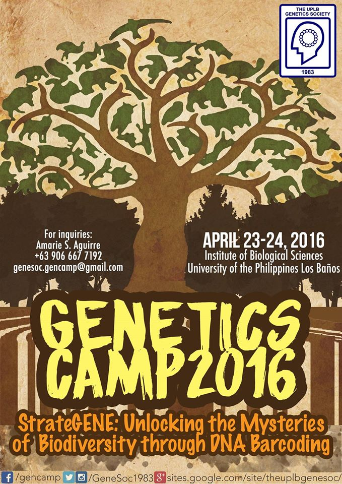 GenCamp 2016 - The UPLB Genetics Society