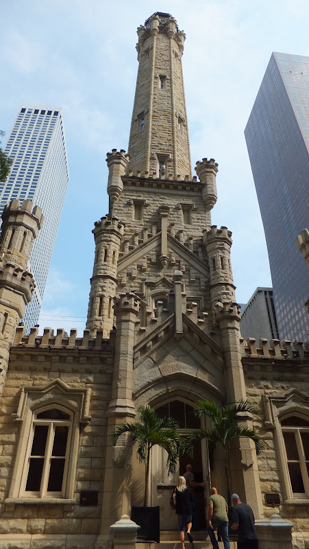 Water Tower, Magnificent Mile, Chicago