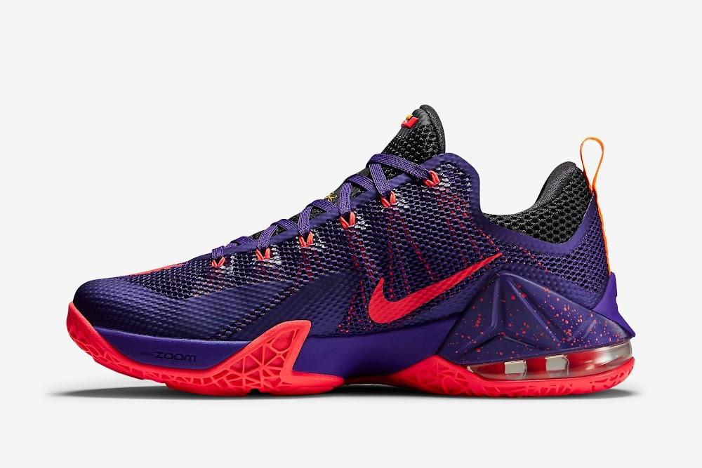 66b4317a841 ... Nike LeBron 12 Low Court Purple Drops Next Month ...