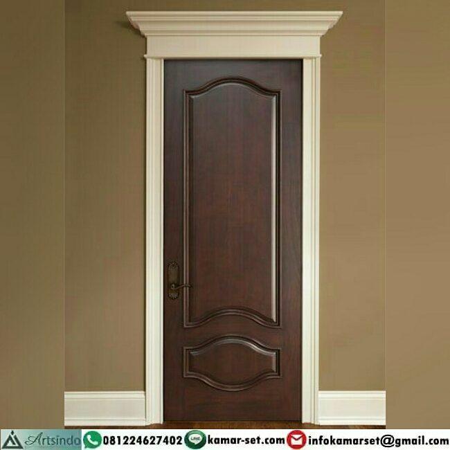 Model pintu kamar sederhana cantik bagus