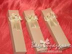 Свадебные пригласительные - коробочки