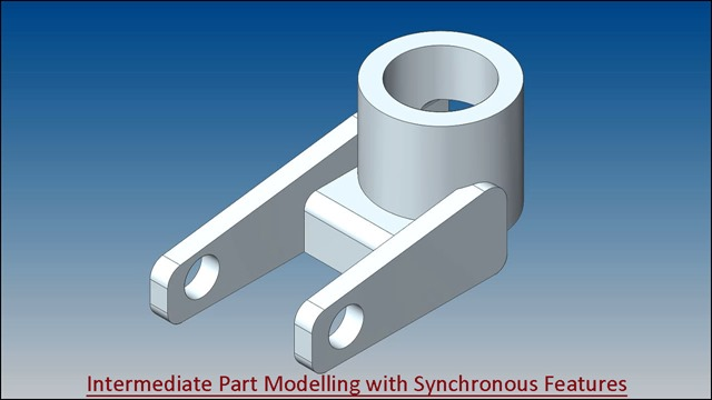 Intermediate Part Modelling with Synchronous Features