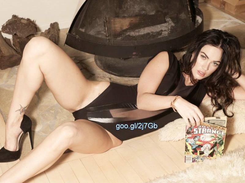 Megan Fox photographs