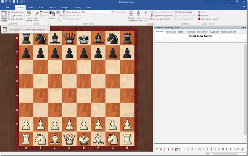 chessbase tricks