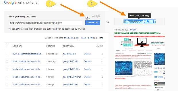 google-shortener
