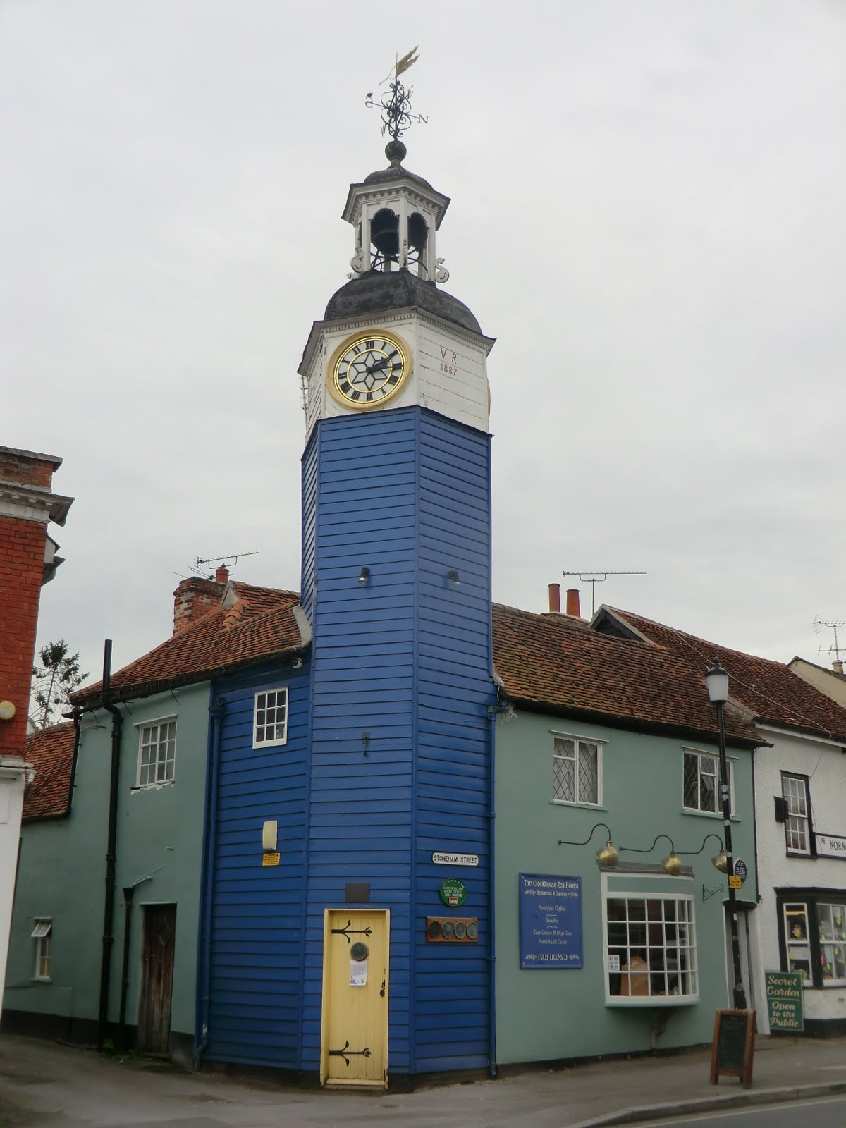 CIMG0415 Clock Tower, Coggeshall