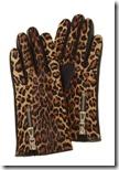 Karen Millen Leopard Print Gloves