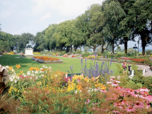 Garden at Plains of Abraham.  Quebec City: the Heart of Canada