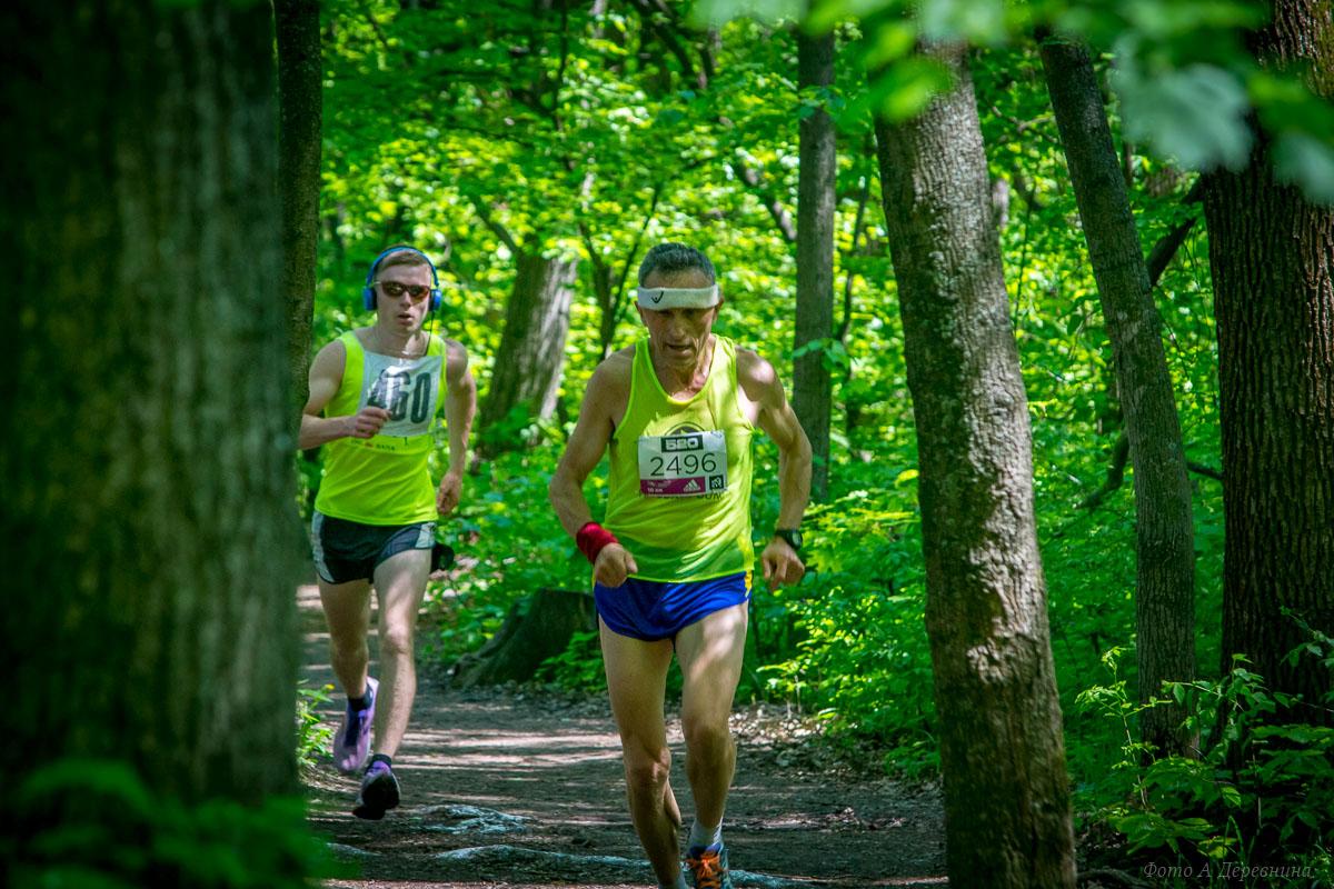 Александр Вовк - чемпион Украины в беге на 10 км среди ветеранов.