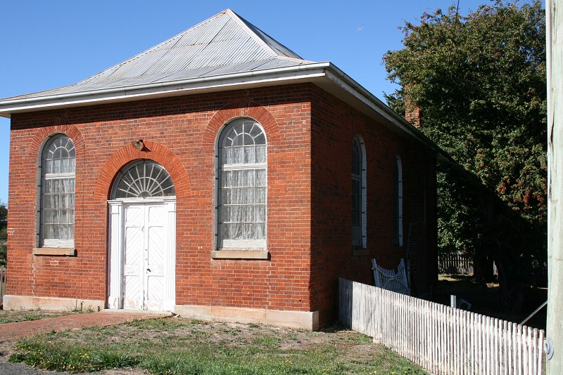 Wesleyan Chapel (former) now Hall, King St, Campbell Town, TAS, Australia