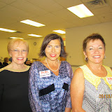 GWBHS Volunteers Barb Krause, Karen Faett and Sue Williams. Tanya Sharon, Kat White and Sue Murphy and not pictured.
