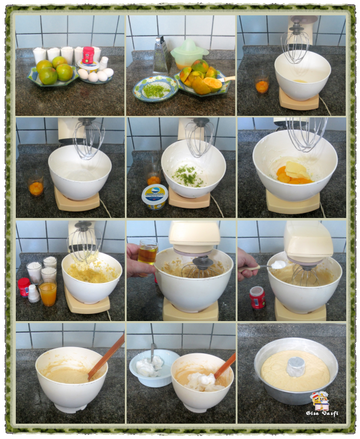 Bolo de laranja com licor 3