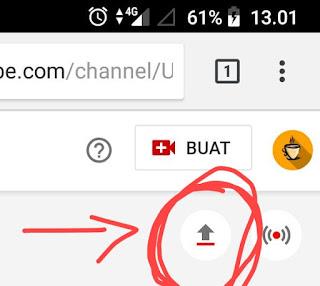Cara Upload Video di Youtube Lewat HP