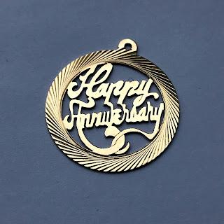 14K Anniversary Pendant