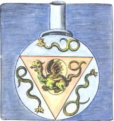 From Valentine Twelve Keys In The Musaeum Hermeticum Frankfurt 1678, Alchemical And Hermetic Emblems 1