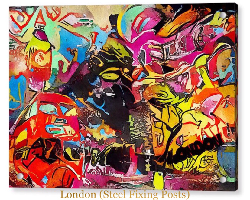 abstract art London by Mark Taylor