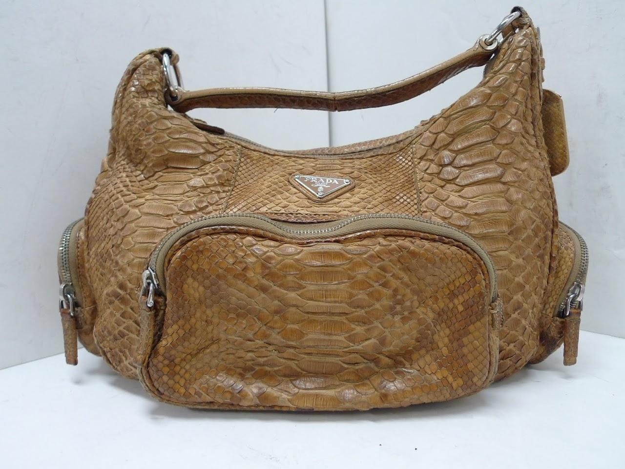 Prada Snakeskin Handbag