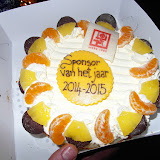 Ospylac seizoen 2014-2015 Sponsor van 't jaar