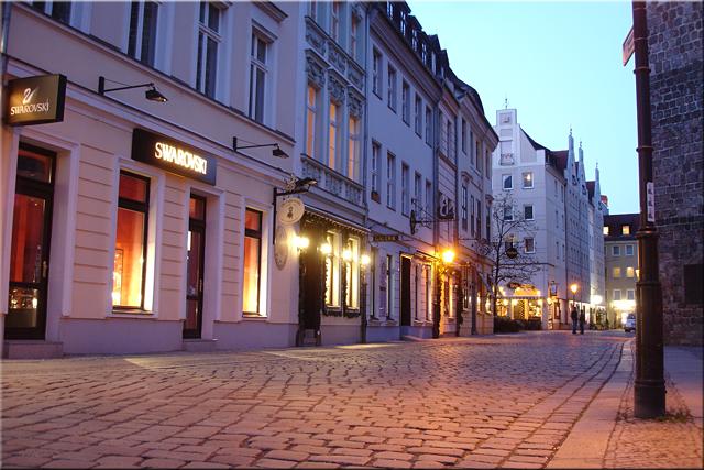 Atardecer en Nikolaikirchplatz - Berlín'10