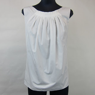 Nina Ricci Pleated Blouse