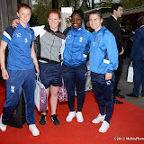 OIC - ENTSIMAGES.COM - Everton ladies football players at the Professional Footballers' Association (PFA) Awards in London 26th April 2015  Photo Mobis Photos/OIC 0203 174 1069