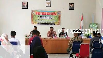 Pemerintah Desa Siabu Gelar Musyawarah  Penyusunan RKP Desa Tahun 2022
