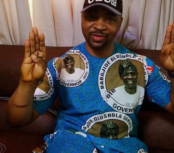 MC Oluomo 'Shoots Himself In The Leg', Causing Confusion In Lagos (Photos)