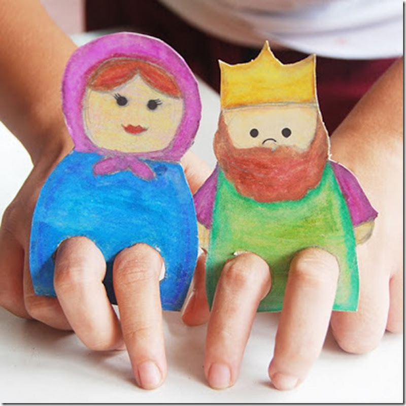 Marionetas de dedos para descargar