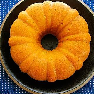 Blood Orange Soda Cake.