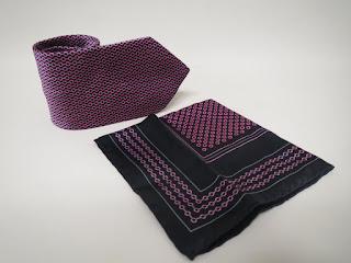 Brioni Tie and Pocket Square Pair