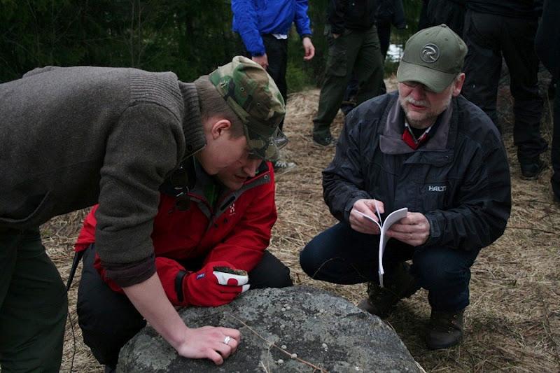 Kallioperägeologian kenttäkurssi, kevät 2012 - Kallioper%25C3%25A4kenttis%2B090.JPG