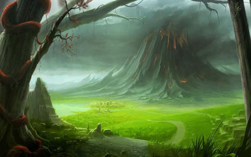 Green Valley In Danger, Magical Landscapes 2