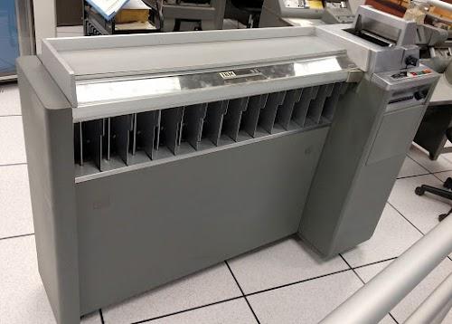 IBM Type 83 card sorter.