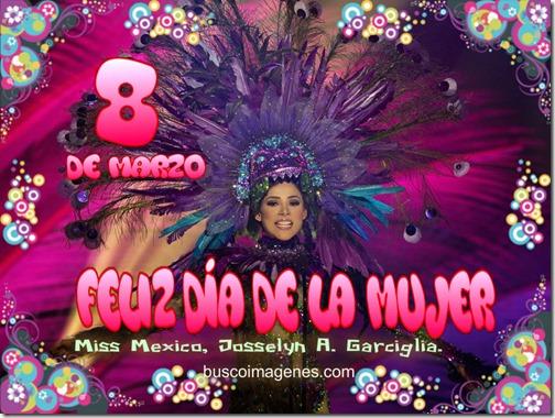 Miss México, Josselyn A. Garciglia.