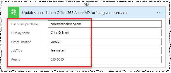 Chris O'Brien: Using a custom Azure Function in Flow (e g