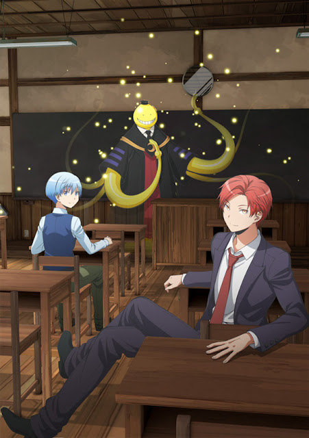 Koro-sensei is back New Assassination Classroom Film + Visual
