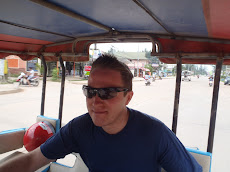 Our first tuk tuk ride from the ferry drop off to our place in Long Beach. 10 minutes of excitement this was- hold on!