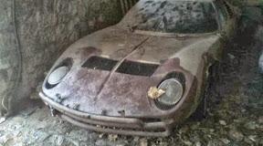 Abandoned Lamborghini Miura