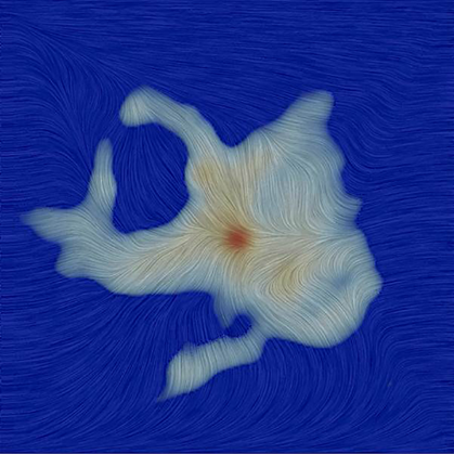 orientação do campo magnético na região em torno da protoestrela Ser-emb 8