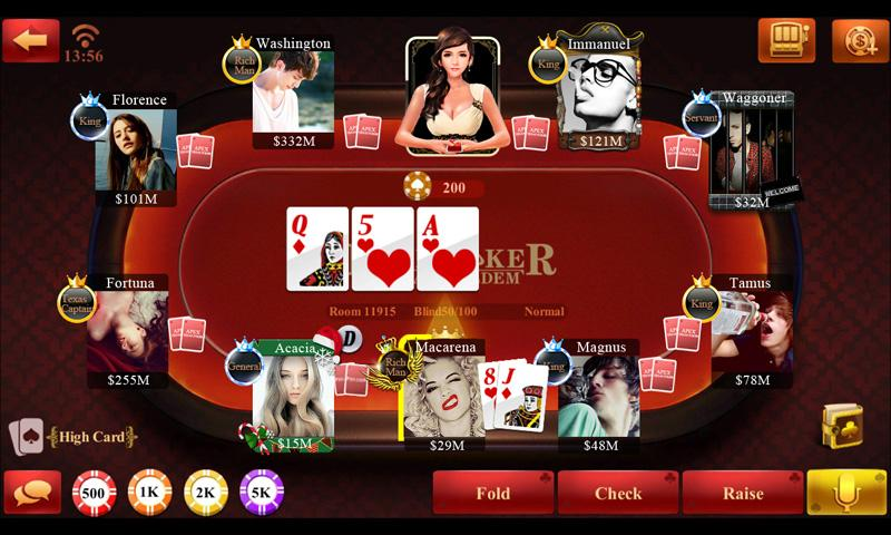 Ride'm Poker - Play for Free Online with No Downloads