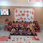 Orange Day Celebration by Nursery Section at Witty World Bangur Nagar (2018-2019)