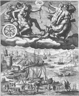 Crispijn De Passe I After Maarten De Vos, Emblems Related To Alchemy
