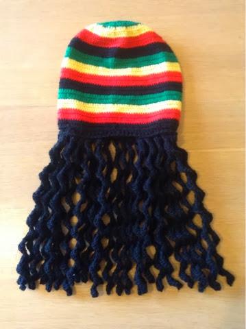 Sooz In The Shed...  Bob Marley Crochet Rasta Hat c78754f599f