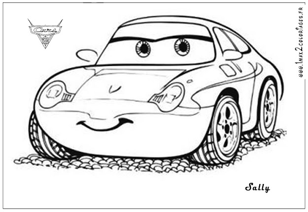 Cars The Movie Coloring Pages Tag For Disney Kids
