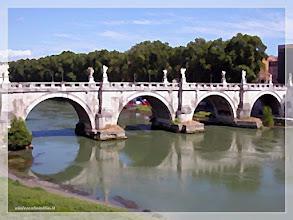 Photo: El Tiber ( Roma) www.viajesenfamilia.it/