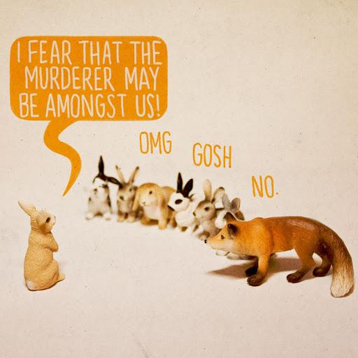 murder rabbits
