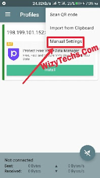 Shadowsocks 9Mobile settings