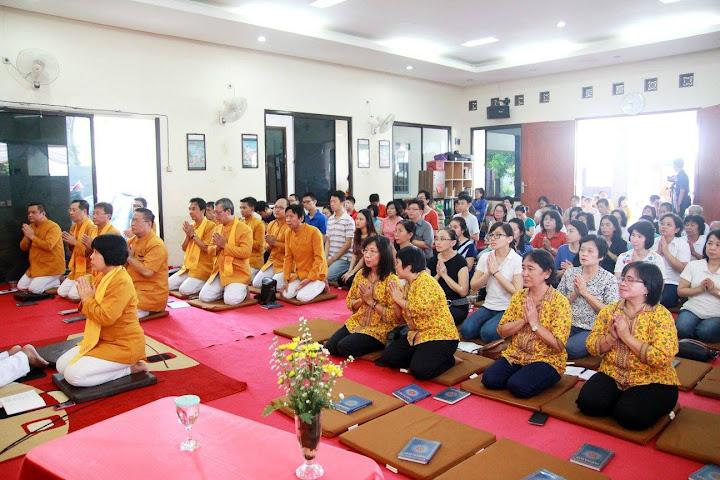 PC MAGABUDHI & WANDANI Tangerang Selatan melaksanakan Upacara Pattidana