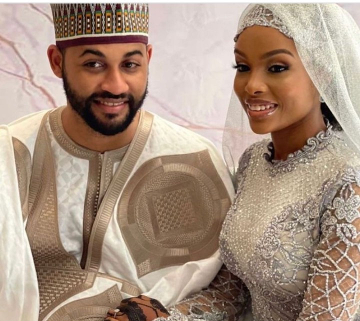 Aliko Dangote's niece, Aziza Dangote, weds her groom, Aminu Waziri in elaborate ceremony attended by Dangote and other dignitaries (photos)