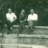 Πλατεία Καλογήρων στο πανηγ. Αγ. Τριάδας, 1961